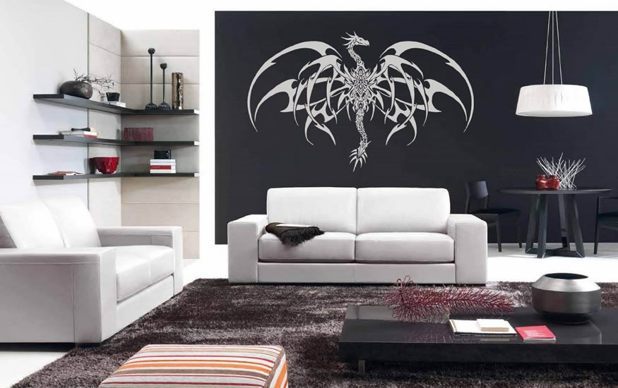 Dragon and Loveseat Recliner